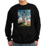 Umbrella /Fr Bulldog (f) Sweatshirt (dark)