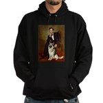 Lincoln's German Shepherd Hoodie (dark)