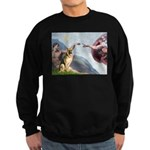 Creation / German Shepherd #2 Sweatshirt (dark)