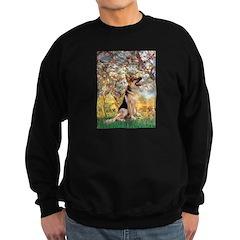 Spring & German Shepherd Sweatshirt