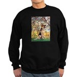 Spring & German Shepherd Sweatshirt (dark)