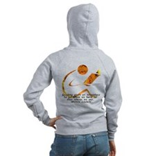 Reader - Golden Quote Zip Hoodie
