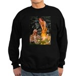 Fairies & Golden Sweatshirt (dark)