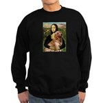 Mona's Golden Retriever Sweatshirt (dark)