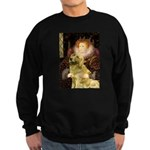 The Queen's Golden Sweatshirt (dark)