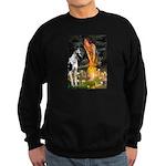 Fairies / Gr Dane (h) Sweatshirt (dark)
