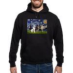 Starry / 4 Great Danes Hoodie (dark)
