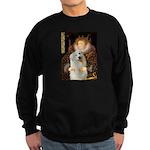 Queen / Gr Pyrenees #3 Sweatshirt (dark)