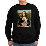 Mona Lisa / Greyhound #1 Sweatshirt (dark)