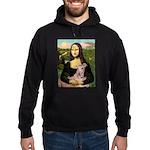 Mona Lisa / Greyhound #1 Hoodie (dark)