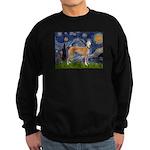 Starry / Greyhound (f) Sweatshirt (dark)