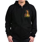 Fairies / Irish S Zip Hoodie (dark)
