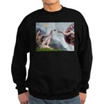 Creation / Ital Greyhound Sweatshirt (dark)