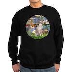 Lilies / Ital Greyhound Sweatshirt (dark)