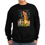 Midsummer's / Ital Greyhound Sweatshirt (dark)