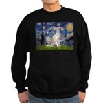 Starry Night / Ital Greyhound Sweatshirt (dark)
