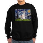 Starry Night / Ital Greyhound Sweatshirt (dark)