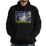 Starry Night / Ital Greyhound Hoodie (dark)