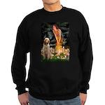 Fairies/ Italian Spinone Sweatshirt (dark)