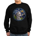 Starry Irish Wolfhound Sweatshirt (dark)
