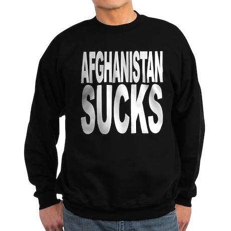 Afghanistan Sucks Sweatshirt (dark)