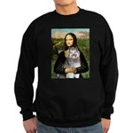 Mona's Keeshond (E) Sweatshirt (dark)