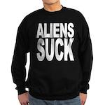 Aliens Suck Sweatshirt (dark)