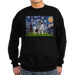 Starry / Keeshond Sweatshirt (dark)