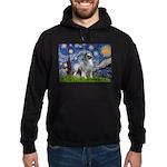 Starry / Keeshond Hoodie (dark)