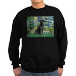 Bridge & Black Lab Sweatshirt (dark)
