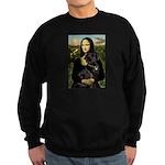 Mona's Black Lab Sweatshirt (dark)