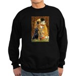 The Kiss & Black Lab Sweatshirt (dark)