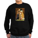 The Kiss & Black Lab Sweatshirt (dark)