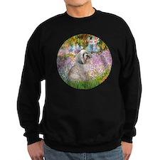Garden / Lhasa Apso Sweatshirt