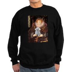The Queen's Maltese Sweatshirt (dark)