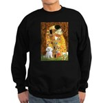 The Kiss / Maltese Sweatshirt (dark)