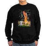 Fairies & Maltese Sweatshirt (dark)