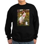 Windflowers / Maltese Sweatshirt (dark)