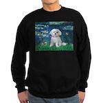 Lilies / Maltese Sweatshirt (dark)