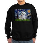 Starry Night / Maltese Sweatshirt (dark)