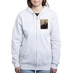 Whistler's / Min Pin Women's Zip Hoodie