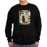 Venus & Newfoundland Sweatshirt (dark)