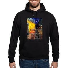 Cafe & Newfoundland Hoodie (dark)