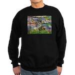 Lilies / Nor Elkhound Sweatshirt (dark)