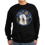 Starry Old English (#3) Sweatshirt (dark)