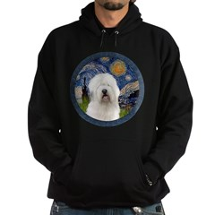 Starry Old English (#3) Hoodie (dark)