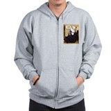 Old english sheepdog note Zip Hoodie