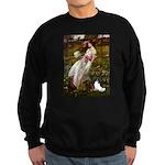 Windflowers & Papillon Sweatshirt (dark)
