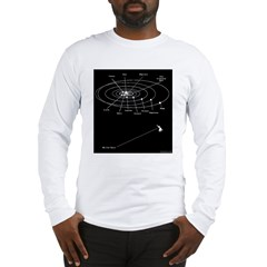 Lost Keys In Space Long Sleeve T-Shirt