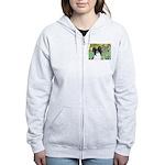 Irises & Papillon Women's Zip Hoodie